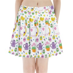 Cute Easter pattern Pleated Mini Skirt by Valentinaart