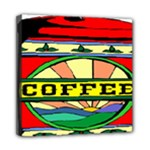 Coffee Tin A Classic Illustration Mini Canvas 8  x 8