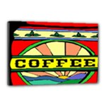Coffee Tin A Classic Illustration Canvas 18  x 12