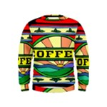 Coffee Tin A Classic Illustration Kids  Sweatshirt