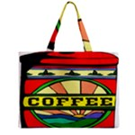 Coffee Tin A Classic Illustration Zipper Mini Tote Bag