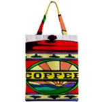 Coffee Tin A Classic Illustration Zipper Classic Tote Bag