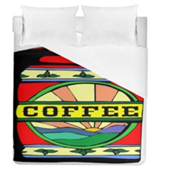 Coffee Tin A Classic Illustration Duvet Cover (queen Size) by Nexatart