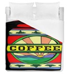 Coffee Tin A Classic Illustration Duvet Cover (Queen Size)