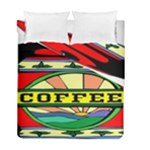 Coffee Tin A Classic Illustration Duvet Cover Double Side (Full/ Double Size)