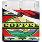 Coffee Tin A Classic Illustration Duvet Cover Double Side (King Size)