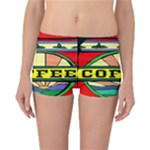Coffee Tin A Classic Illustration Reversible Bikini Bottoms