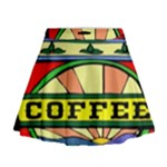Coffee Tin A Classic Illustration Mini Flare Skirt