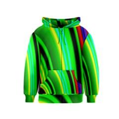 Multi Colorful Radiant Background Kids  Zipper Hoodie