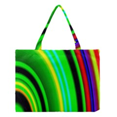 Multi Colorful Radiant Background Medium Tote Bag by Nexatart