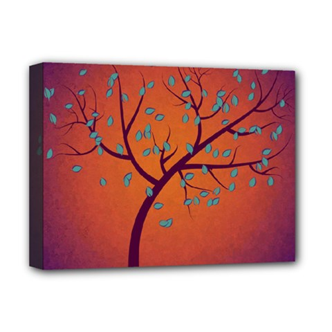 Beautiful Tree Background Deluxe Canvas 16  X 12