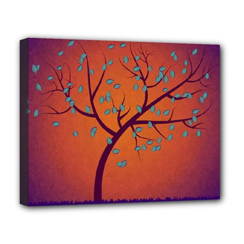 Beautiful Tree Background Deluxe Canvas 20  X 16