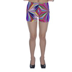 Star A Completely Seamless Tile Able Design Skinny Shorts