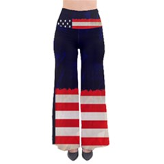 Grunge American Flag Background Pants by Nexatart