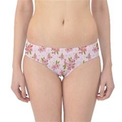 Beautiful Hand Drawn Flowers Pattern Hipster Bikini Bottoms by TastefulDesigns