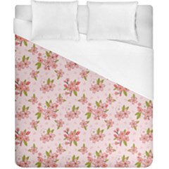 Beautiful Hand Drawn Flowers Pattern Duvet Cover (california King Size) by TastefulDesigns