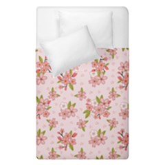 Beautiful Hand Drawn Flowers Pattern Duvet Cover Double Side (single Size) by TastefulDesigns