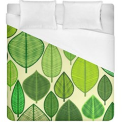 Leaves Pattern Design Duvet Cover (king Size) by TastefulDesigns