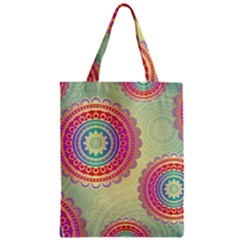 Abstract Geometric Wheels Pattern Classic Tote Bag by LovelyDesigns4U