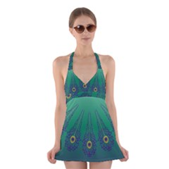 1p Halter Swimsuit Dress by olgart