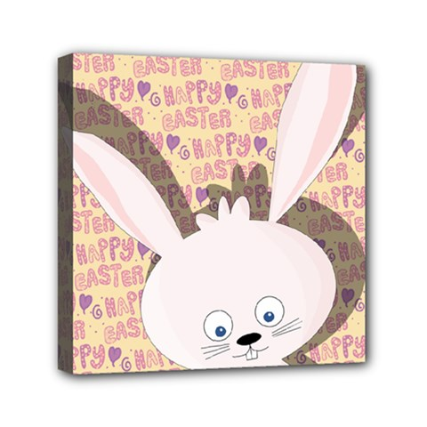 Easter Bunny  Mini Canvas 6  X 6  by Valentinaart