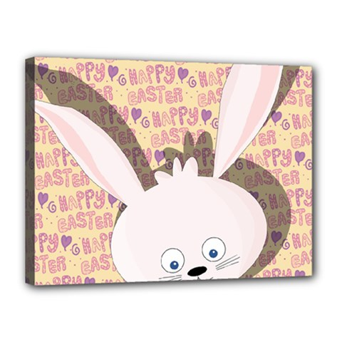 Easter Bunny  Canvas 16  X 12  by Valentinaart