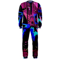 Abstract Artwork Of A Old Truck OnePiece Jumpsuit (Men)  by Nexatart
