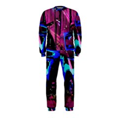 Abstract Artwork Of A Old Truck Onepiece Jumpsuit (kids)