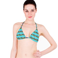 Colourful Street A Completely Seamless Tile Able Design Bikini Top