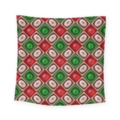 Gem Texture A Completely Seamless Tile Able Background Design Square Tapestry (small) by Nexatart