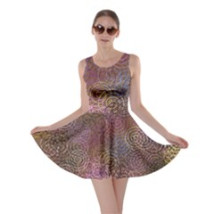 2000 Spirals Many Colorful Spirals Skater Dress by Nexatart