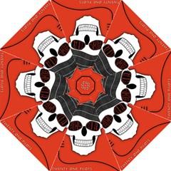 Poster Twenty One Pilots Skull Folding Umbrellas by Onesevenart