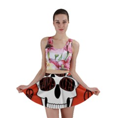 Poster Twenty One Pilots Skull Mini Skirt