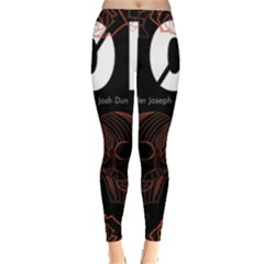 Twenty One Pilots Event Poster Leggings  by Onesevenart
