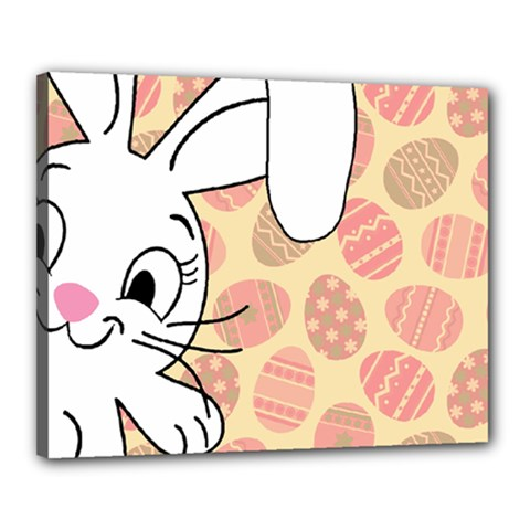 Easter Bunny  Canvas 20  X 16  by Valentinaart