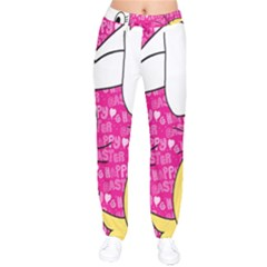 Easter Bunny And Chick  Drawstring Pants