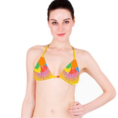 Birthday Party Balloons Colourful Cartoon Illustration Of A Bunch Of Party Balloon Bikini Top