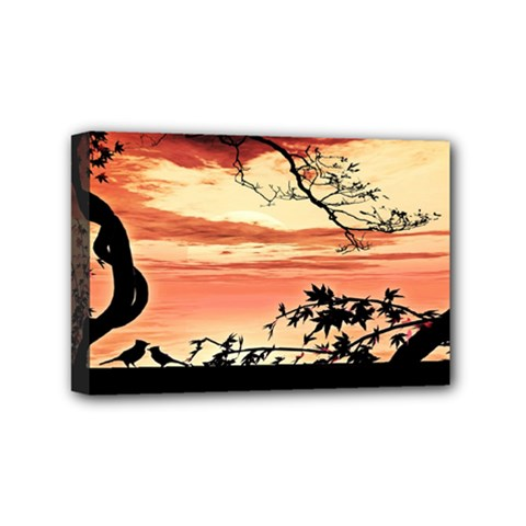 Autumn Song Autumn Spreading Its Wings All Around Mini Canvas 6  X 4  by Nexatart