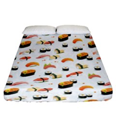Sushi Lover Fitted Sheet (queen Size)