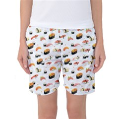 Sushi Lover Women s Basketball Shorts by tarastyle