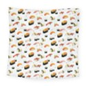 Sushi Lover Square Tapestry (Large) View1