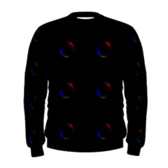 Tranquil Abstract Pattern Men s Sweatshirt