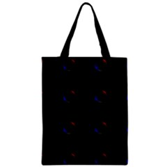 Tranquil Abstract Pattern Zipper Classic Tote Bag