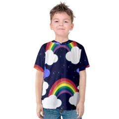 Rainbow Animation Kids  Cotton Tee