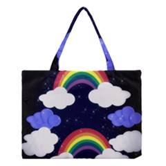 Rainbow Animation Medium Tote Bag by Nexatart