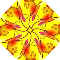Butterfly Background Wallpaper Texture Straight Umbrellas