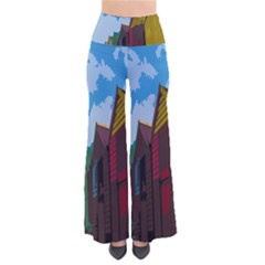 Brightly Colored Dressing Huts Pants by Nexatart