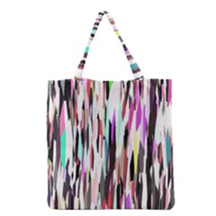 Randomized Colors Background Wallpaper Grocery Tote Bag by Nexatart
