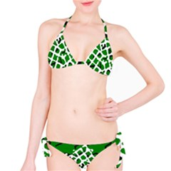 Abstract Clutter Bikini Set