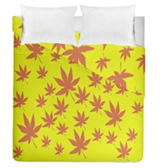 Autumn Background Duvet Cover Double Side (queen Size) by Nexatart